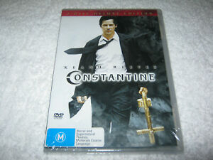 Constantine-Keanu-Reeves-2-Disc-New-Sealed-DVD-R4