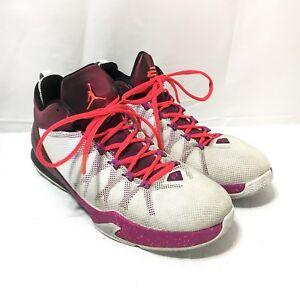 wholesale sales exclusive range cheap price Details about Nike Air Jordan CP 3 VIII Chris Paul Men's 11 White Purple  Basketball Shoes