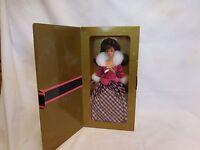 1996 Avon Exclusive Barbie Winter Rhapsody Brand In Box So Elegant