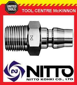 NITTO-MALE-COUPLING-AIR-FITTING-WITH-3-8-BSP-MALE-THREAD-30PM-JAPAN-MADE