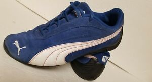 Details about rare blue suede Puma Speed Cats size 5