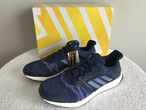 Details about Adidas Ultra Boost ST Running Shoe Men's Noble IndigoFootwear White Size 10.5
