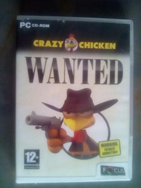Crazy Chicken Wanted (PC: DOS/ Windows, 2006) - European Version