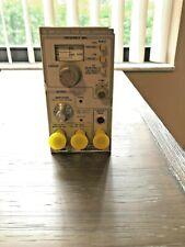 Tektronix Sg504 Leveled Sine Wave Generator With Output Head 015 0282 00