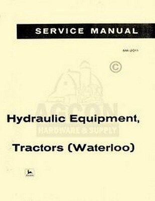 John Deere A B G H R AR 50 60 Hydraulic Service Manual