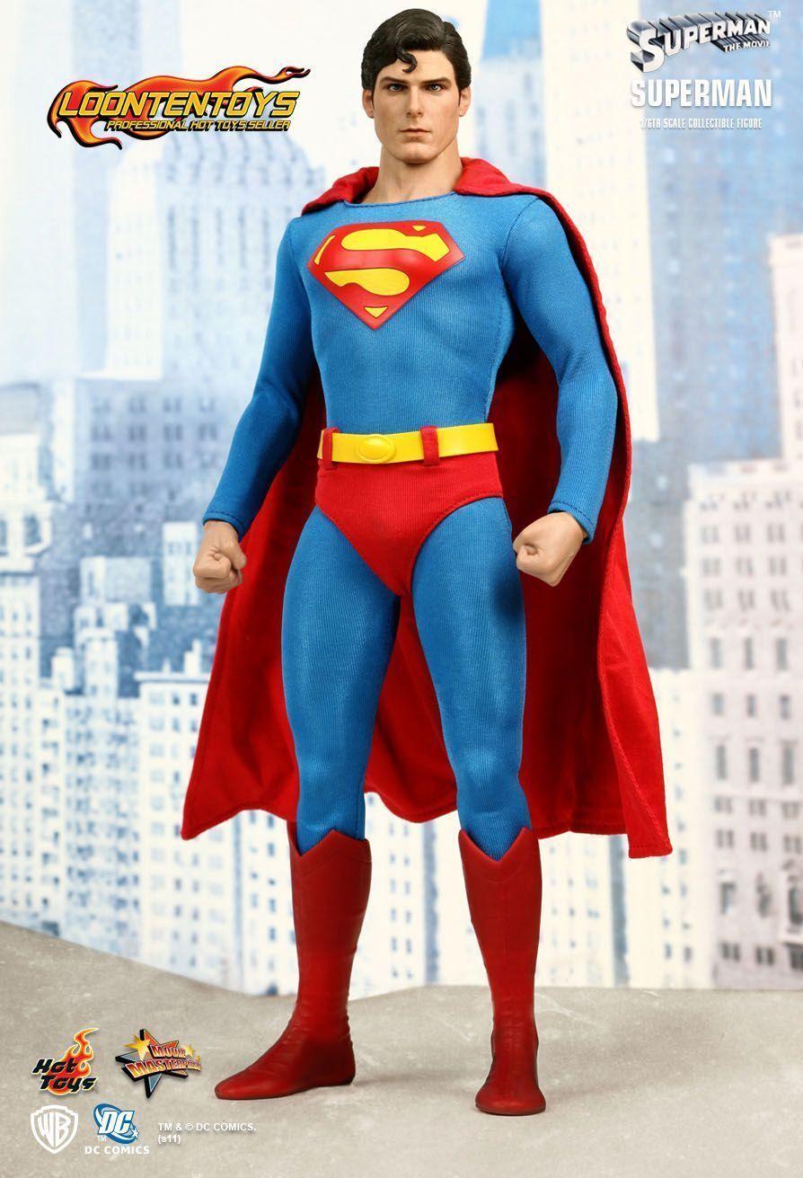Todo en alta calidad y bajo precio. súperman (Christopher Reeve) Hot Juguetes Juguetes Juguetes Movie Masterpiece escala 1 6 Nuevo  tomar hasta un 70% de descuento