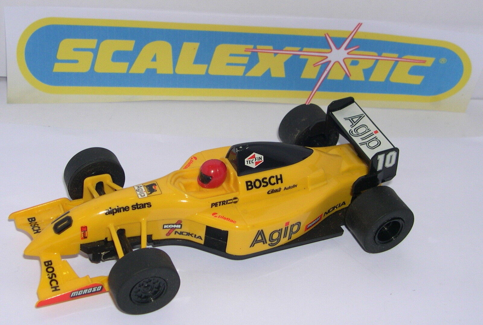 SCALEXTRIC C-2112 TEAM AGIP  10 ONLY SET C-36586.7oz MINT UNBOXED