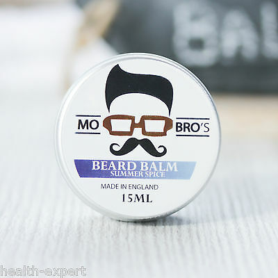 Mo Bro's - Summer Spice Beard Conditioning Balm 15ml Made In England