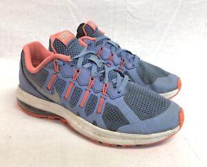 NIke Max Dynasty Size 4.5 Youth PurpleNeon Pink Sneakers eBay  eBay