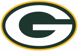 """Green Bay Packers NFL Vinyl Decal Sticker Reflective OFFICIAL NFL 3"""" Decal"""