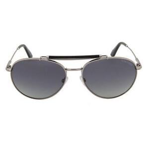 3e5113b417879 Image is loading TOM-FORD-Sunglasses-COLIN-TF338-14D-POLARIZED-Aviator-