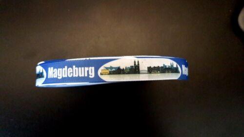 Borte Webband 3168 Magdeburg 15mm Breite Eigenproduktion Ripsband