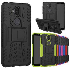 more photos 6d66f 48ede Details about For Asus ZenFone 5Q ZC600KL Case Rugged Armor Defender  Kickstand Phone Cover