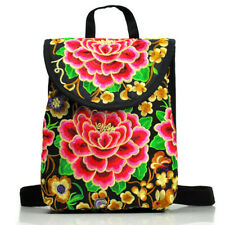 26109083dfa6 item 3 Women s Floral Embroidered Backpack Ethnic Travel Bookbag Crossbody  Shoulder Bag -Women s Floral Embroidered Backpack Ethnic Travel Bookbag  Crossbody ...