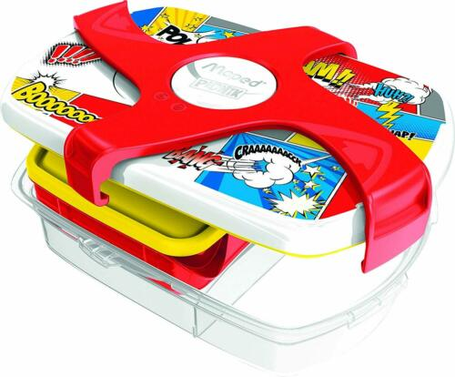 Maped Picnik Concepts Lunch Box-Comic Design-Easy Clean au lave-vaisselle