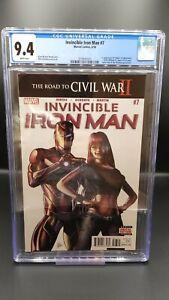 Invincible-Iron-Man-7-CGC-9-4-1st-App-Riri-Williams-Iron-Heart-Tomoe-2016