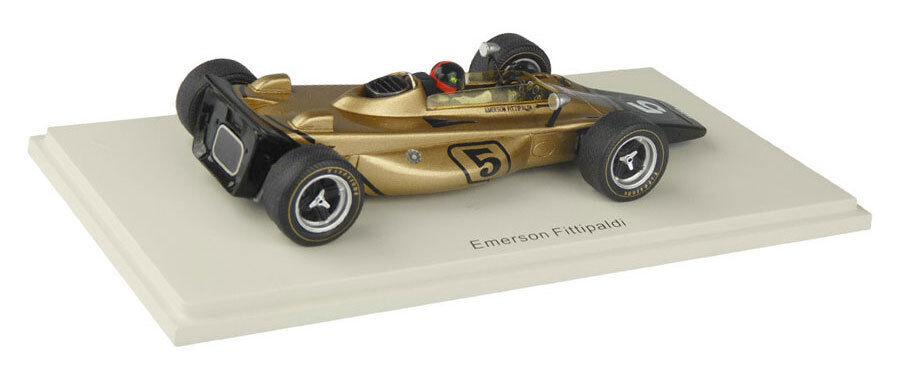 Spark s1766 LOTUS 56B n n n ° 5 gp italien 1971-emerson fittipaldi, échelle 1/43, | Exquis Art  | être Dans L'utilisation  | Nombreux Dans La Variété  1c40a9