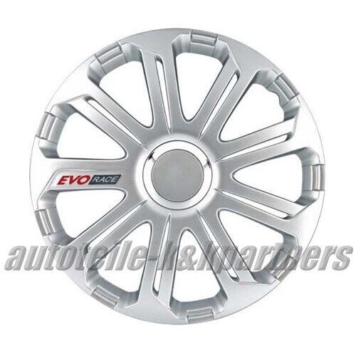 "Ruotino Radzierblenden EVO RACE per Skoda//VW 16 /""Dogana 4 pezzi completo SA"
