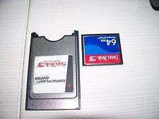 Amiga 600/1200 Pcmcia Transfer card Sandisk 64MB / ADF/whdload/dms/music/demos