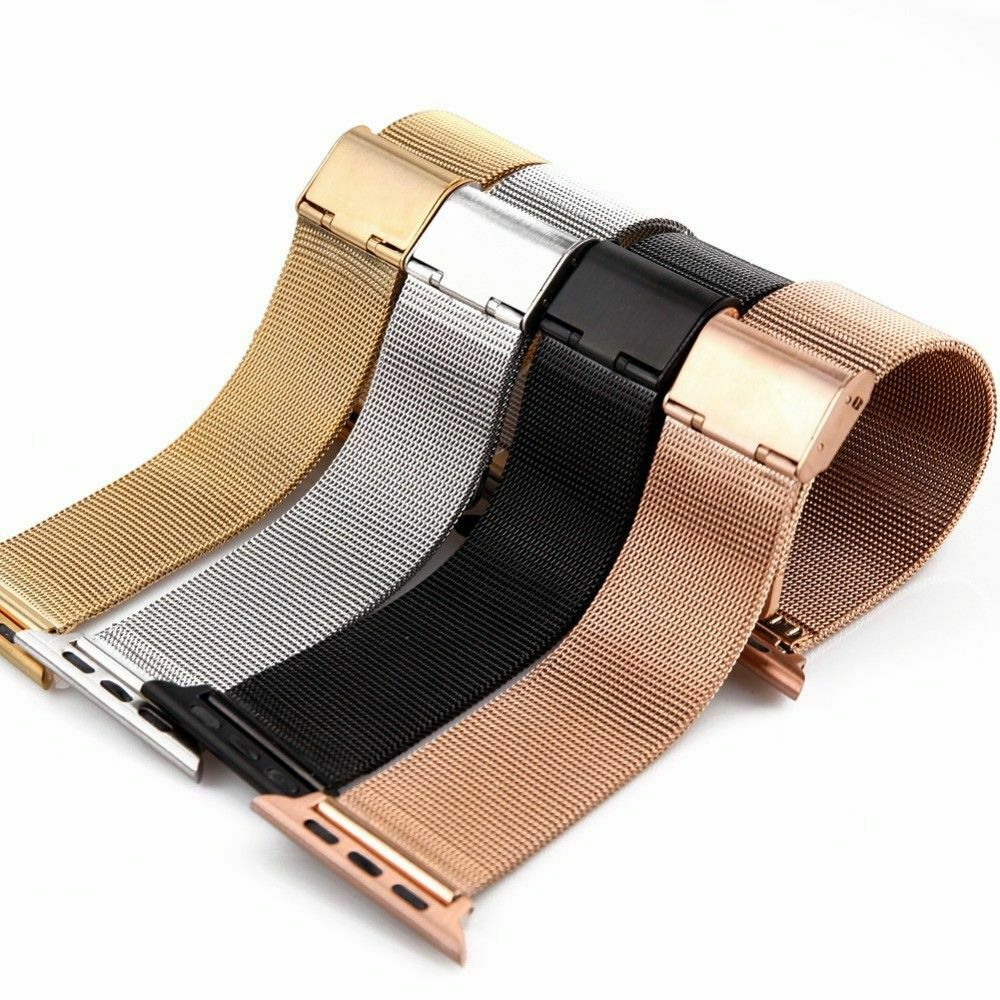 iwatch: For Apple Watch 1/2/3/4 Bands Stainless Steel Bracelet For iWatch Strap 38-44mm