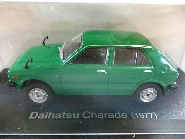alta calidad general   Daihatsu Charade 1977 Diecast Diecast Diecast 1 43 1 43 verde, Raro Nuevo    precios mas baratos