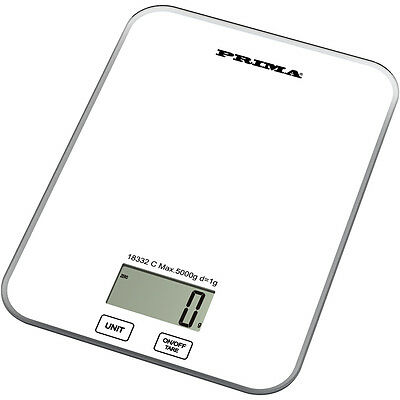 5KG DIGITAL GLASS ELECTRONIC KITCHEN LCD WEIGHING SCALE POSTAL POSTAGE PARCEL