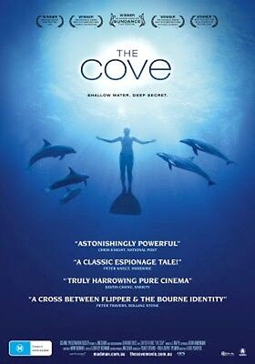 The Cove - Shallow Water, Deep Secret DVD - Japan, Dolphins, Doco, Seaworld