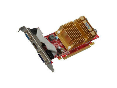 MSI Radeon HD 4350 DirectX 10.1 R4350-MD512H//D3 64-Bit DDR3 Video Card R435 L:U
