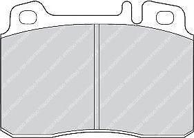 Ferodo FDB646 Asse Anteriore Alta Qualità Auto Set Pastiglia Freno Ricambio