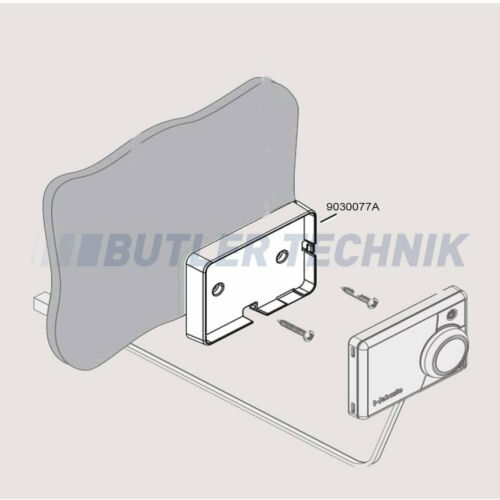 Webasto Smart Control or MultiControl timer mounting plate9030077A