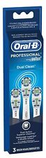Oral-B Dual Clean Replacement Brushheads 3 ea