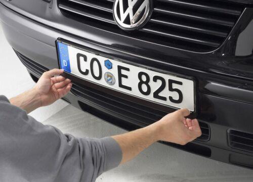 EICHNER SET 50x Nummernschildhalter unbedruckt Kennzeichenhalter Verstärker