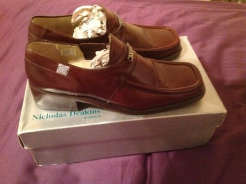 Brown Nicholas 4 Classic Dark Size Loafer Deakin Eww8qAF