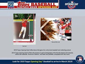 baf46d6e359 2019 Topps Opening Day Baseball Complete Mini Master (Base+4 Inserts ...