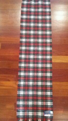Pendleton Stewart Dress Tartan Scarf  100% Virgin
