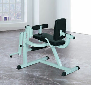 Leg Curl Extension Strength Training Exercise Workout Bench Home Gym Fitness Ebay