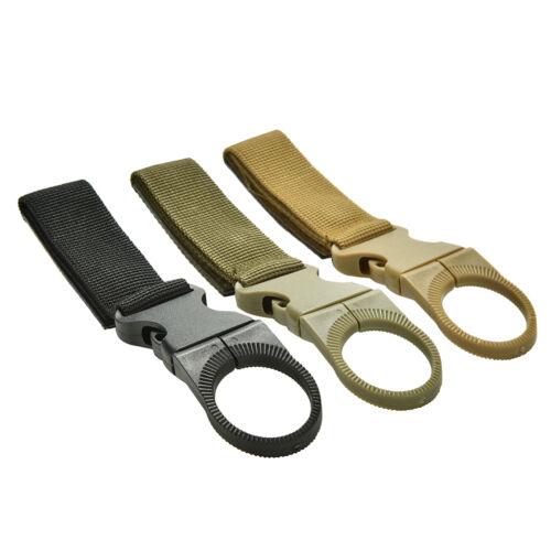 Molle Hanging Strap Gurtband Schnalle Clip Schlüssel Flasche Haken Gürtel H2TYD