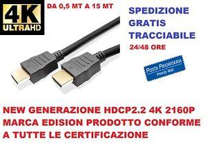 Cavo-HDMI-4K-2K-Ultra-HD-da-0-5-a-15-metri-High-speed-TV-Monitor-Audio-Video