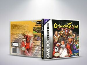 Onimusha-Tactics-GBA-Replacement-Cover-Case-NO-Game-PAL-US