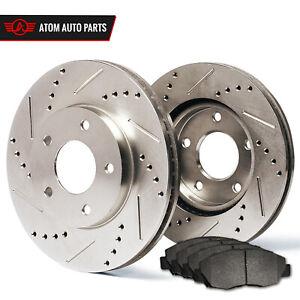 Rear-Rotors-w-Metallic-Pad-Premium-Brakes-2012-2017-Grand-Caravan-Journey