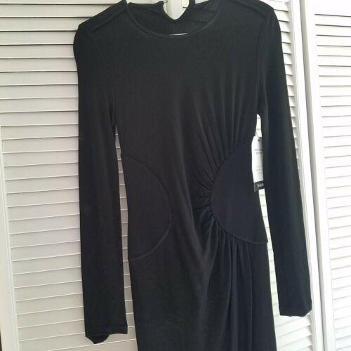 Givenchy Womens Long Sleeve Black Evening Dress Bl