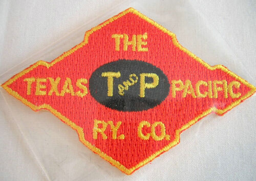TEXAS /& PACIFIC T and P RY CO Railroad PATCH T /& P Iron On