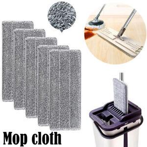 Microfiber-Cloth-Mop-Kitchen-Floor-Cleaning-Flat-Mop-Rag-Bathroom-Replacement-ld