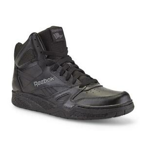4c7bc94a7e7 New Mens Reebok Royal BB4500 Extra Wide Black High-Top Leather ...