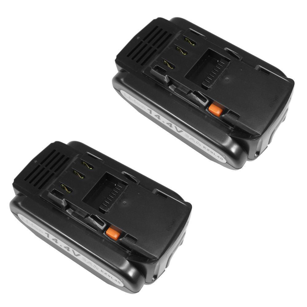 2x AKKU 14,4V 4000mAh ersetzt Panasonic EZ9L42 EZ9L44 für EY3640 EY3641 EY3740