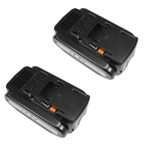 2x Batterie 14,4 V 4000 mAh remplace Panasonic ez9l42 ez9l44 pour ey3640 ey3641 ey3740