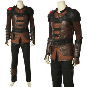 How To Train Your Dragon 3 Hiccup Cosplay Costume Custom ...