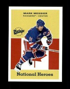 2000-01 Upper Deck Vintage National Heroes #NH16 Mark Messier (R1392)