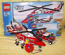 LEGO CITY FIRE HELICOPTER 7206