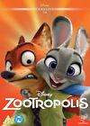 Zootropolis DVD 2016 Cartoon Walt Disney Studios PAL Region 2 Animation